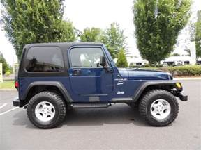 2000 Jeep Wrangler Top 2000 Jeep Wrangler Sport 4x4 6cyl 5 Speed Manual