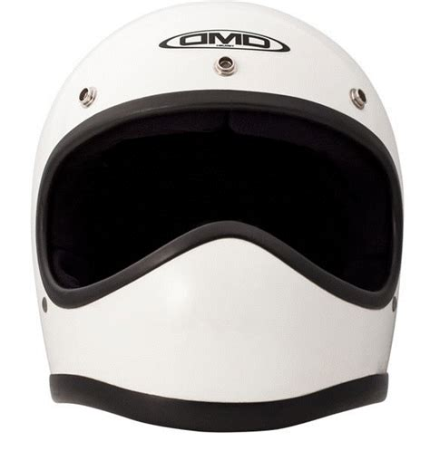 Helm Cross Visor dmd vintage racer white retro cross helmet 24helmets