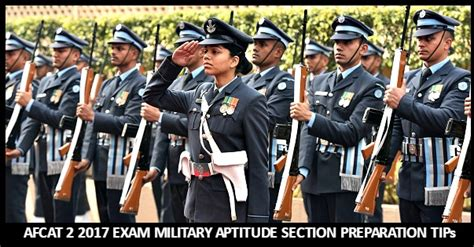 candidate section afcat afcat 2 2017 exam military aptitude section preparation tips