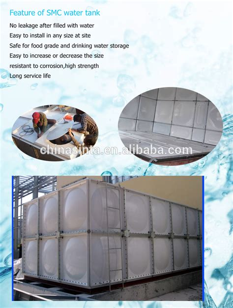 frp water tank grp panel section water tank for grp water