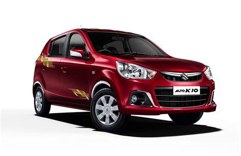 Maruti Suzuki Alto Price On Road Maruti Suzuki Launches Alto K10 Urbano Limited Edition