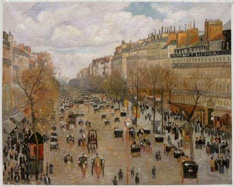 5 Boulevard Montmartre by 13 Best Images About Camille Pissarro On