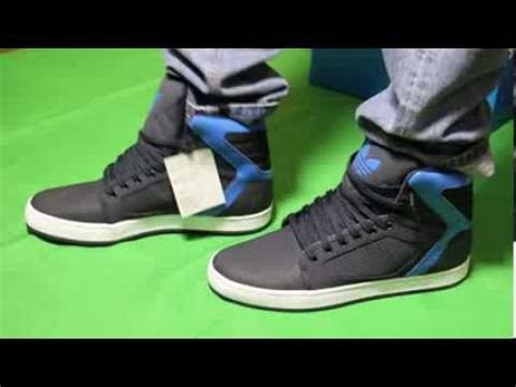 adidas originals adi high ext high ankle sneakers on foot