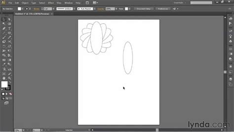 illustrator tutorial rotation using the rotate tool and duplicating objects