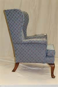 knoll wing chair fabric upholstery and antique
