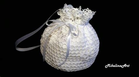 crochet pattern for bridal bag crochet bridal purse handmade bridal purse white 2477259