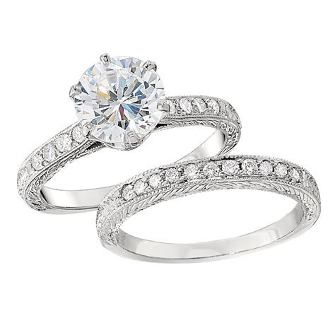 Vintage Style Engagement Ring Settings
