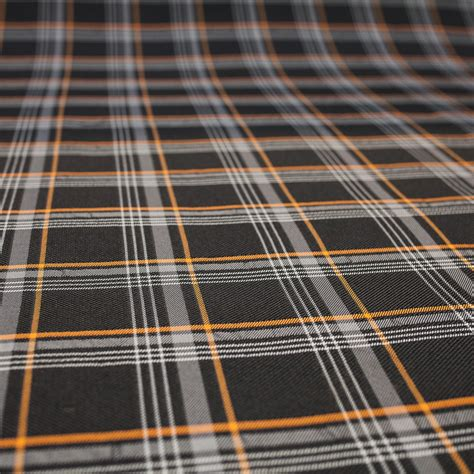 Vw Gti Plaid Fabric by Transporter Hq Golf Gti Style Tartan Upholstery Orange