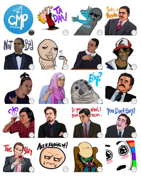 Sticker Meme - complete meme pack stickers telegram