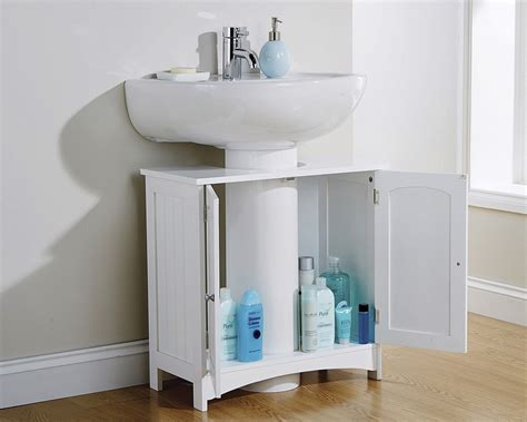 Colonial Bathroom Furniture White Underbasin Unit One Stop Furniture Shop