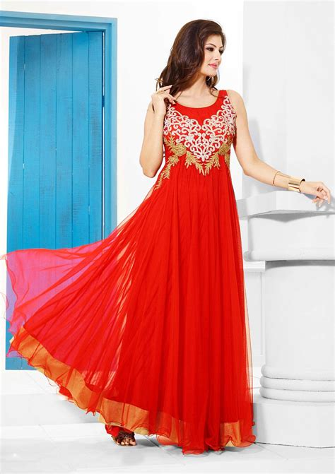 design of dress for party red designer party wear gown buy indian evening wear