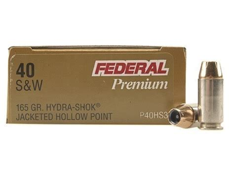 federal premium personal defense ammo 40 s w 165 grain
