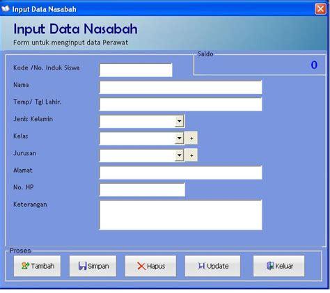 desain database bank cara membuat kartu pelajar cara membuat kartu pelajar