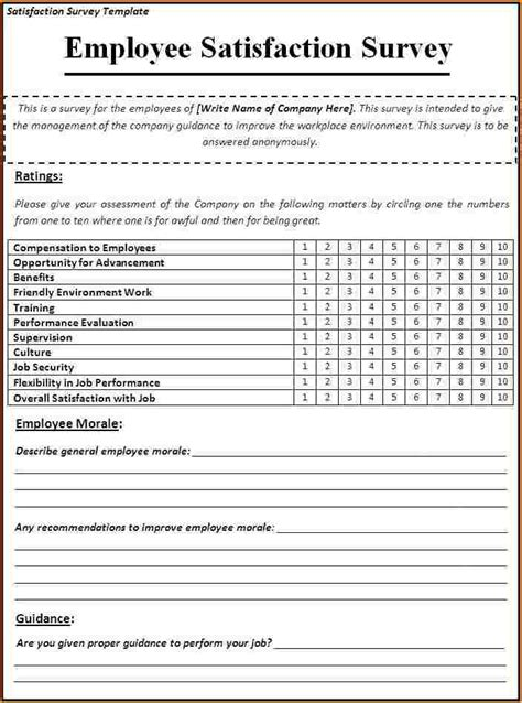 questionnaire survey template sle survey questionnaire templates college admin survey