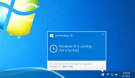 windows 10 reserve prompt now how to reserve a free copy of windows 10 for pc tip