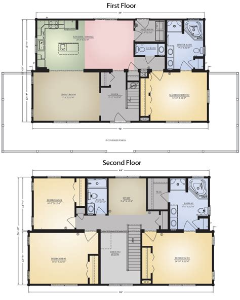savannah floor plan savannah i w porch log home floor plan blue ridge