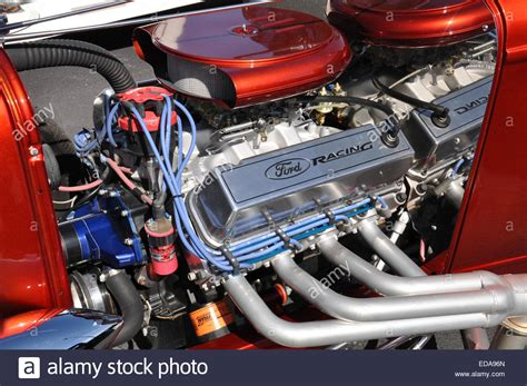 429 Ford Engine by A 429 Big Block Ford Rod Engine Stock Photo 77058765