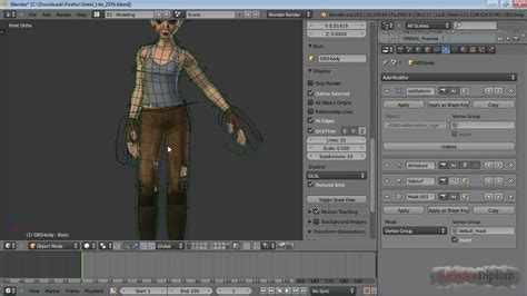 tutorial blender cloth blender tutorial i mesh deform modifier youtube