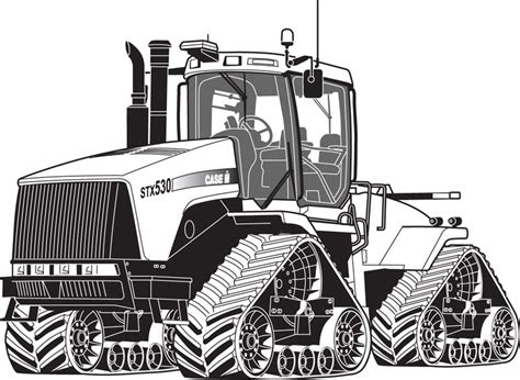 Coloring Book Mandala Case Tractor Colouring Pages Tractor Coloring Pages In