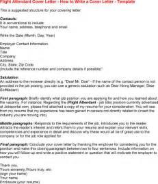 Flight Attendant Resume Cover Letter Flight Attendant Cover Letters About Letter Format