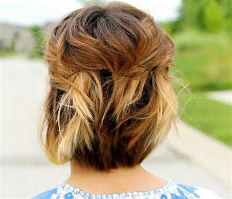 different fixing hairstyles 25 cute and easy hairstyles for short hair short