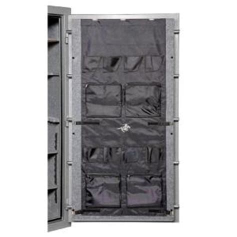 Gun Safe Door Panel Organizer winchester safes 62 in x 26 in gun safe door panel organizer black dpo 62026 the home