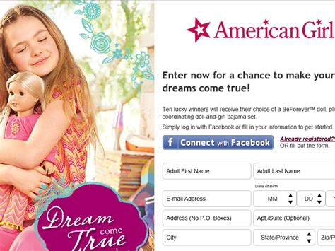 Dream Come True Sweepstakes - american girl dream come true sweepstakes sweepstakes fanatics