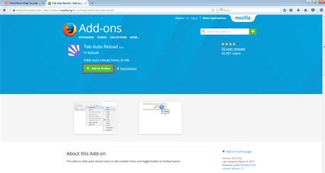 Firefox Auto Refresh by Auto Refresh The Dashboard Page Security Manager