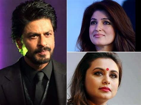 biography of film mela quite rude twinkle khanna called shahrukh khan s film sh