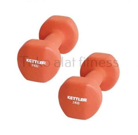 Dumbbell Warna kettler dumbell neoprone 4kg toko alat fitness
