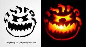printable scary jack o lantern patterns graphic design tech design bolts