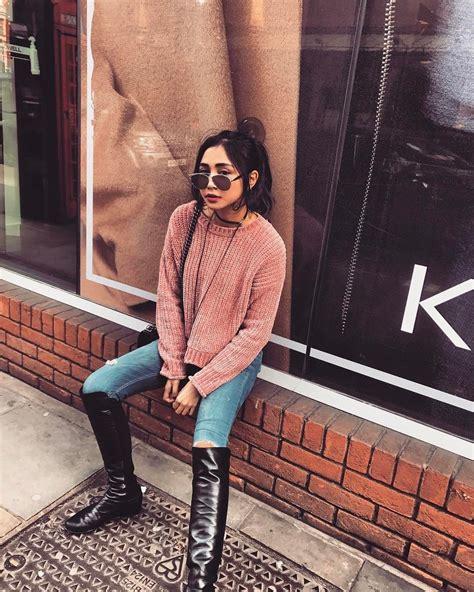 Sepatu Wanita Sepatu Cewek 491 6 referensi gaya busana yang memadukan celana ala citra