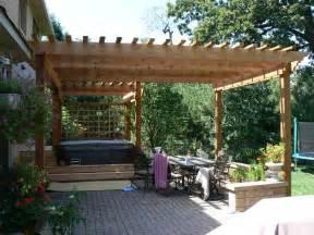 Cedar Pergola Kit by Westernredcedarpergolas Com Spapergolas