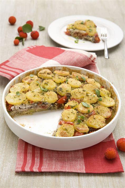ricette cucina donna moderna tortino di patate e acciughe scuola di cucina donna