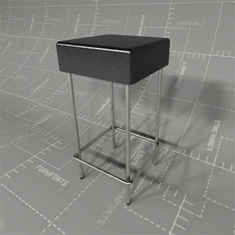 ikea julius bar stool julius stool 3d model formfonts 3d models textures