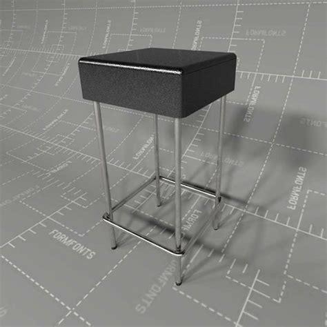 ikea julius bar stool julius stool 3d model formfonts 3d models textures