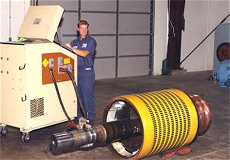 testing a electric motor inman electric motors testing motor efficiency and