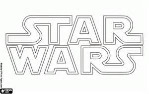 Star Wars Logo Coloring Pages Sketch Page sketch template