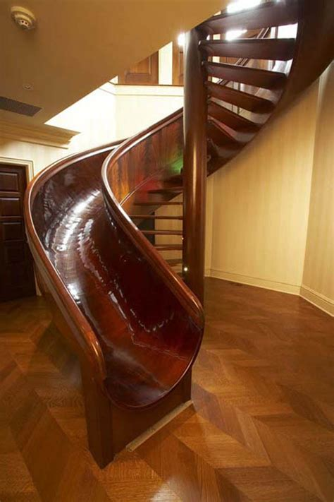 10 Awesome Stairs With Slides 171 Twistedsifter Stair Slide