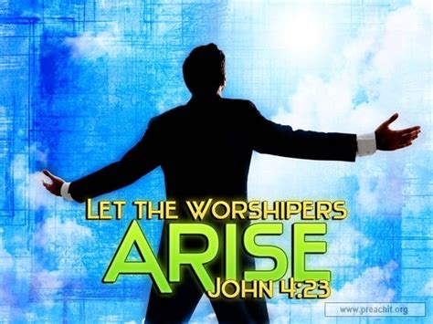 Arise Background Check Sermon By Topic Let The Worshippers Arise