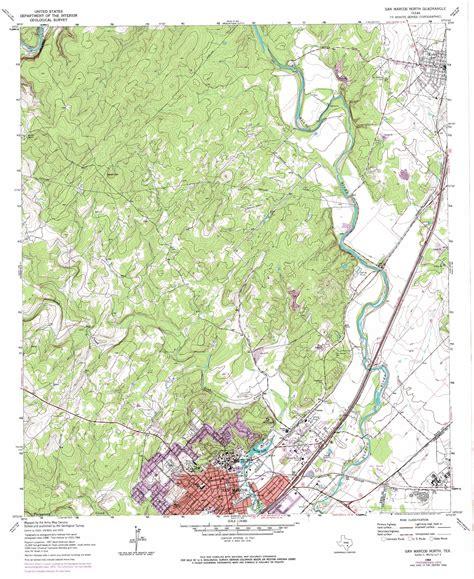 usgs topo maps texas san marcos topographic map tx usgs topo 29097h8