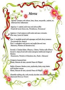 Wedding Dinner Menu Ideas Gallery For Gt Italian Dinner Ideas