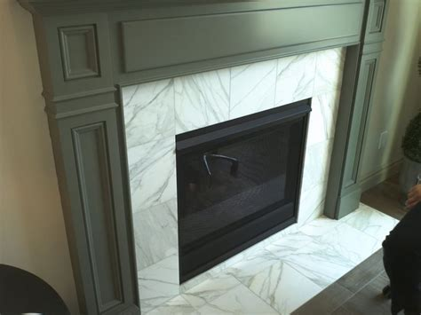 White Glass Tile Fireplace by Pin By Christen Richter On For The Home