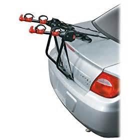 smart bell back two bike trunk rack