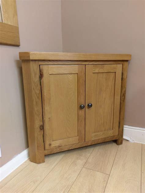 how to a corner cabinet kingsford solid oak corner cabinet cupboard 90cm 51 2cm