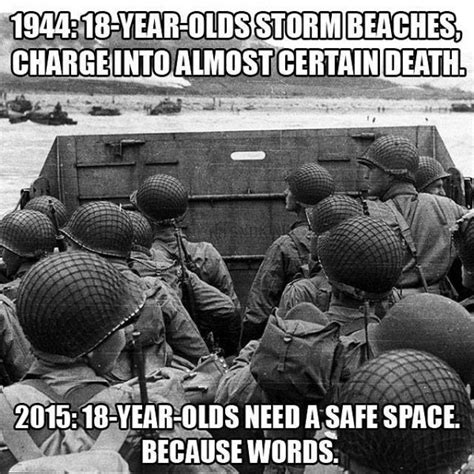 D Day Meme - is it just me or has the world become insanely sensitive