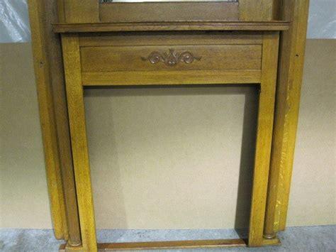 Vintage Fireplace Mantels For Sale by Antique Oak Arts Crafts Fireplace Mantel Mantle For