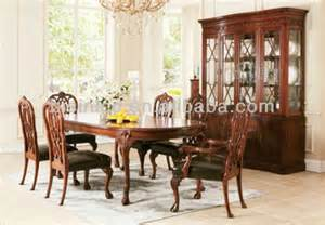 Solid Timber Dining Table Malaysia Noble Wooden Elliptic Dinning Table W Chair