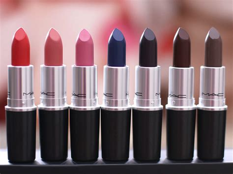 mac lipstick mac the matte lip collection many of these lipsticks are