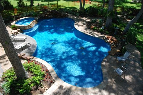 glass bead pool interior pool spa tanning ledges waterfalls weeping rocks moss